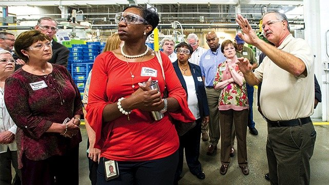 Regional Workforce Council Tours Coosa and Tallapoosa Industries