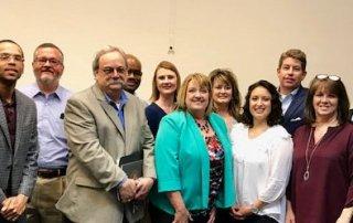 group photo of regional leaders